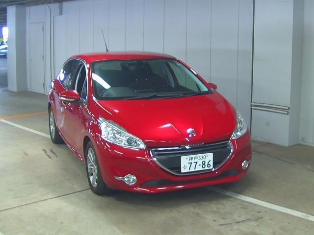 Import and buy PEUGEOT 208 2014 from Japan to Nairobi, Kenya