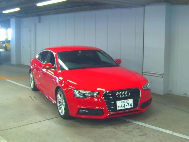 Import and buy AUDI A5 2014 from Japan to Nairobi, Kenya