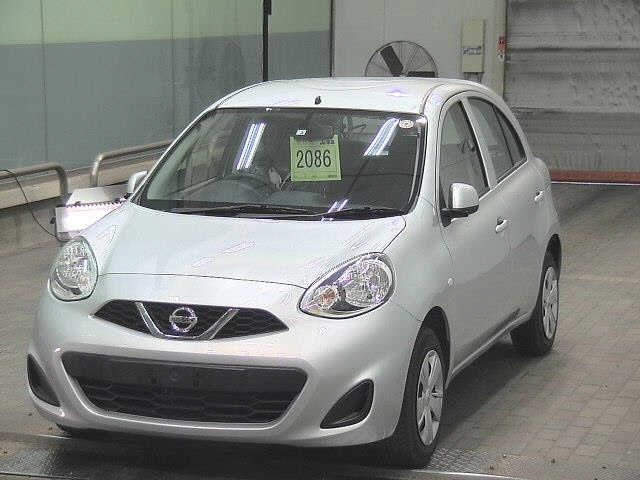Import and buy NISSAN MARCH 2017 from Japan to Nairobi, Kenya