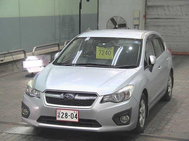 Import and buy SUBARU IMPREZA 2013 from Japan to Nairobi, Kenya