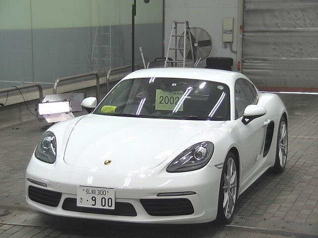 Import and buy PORSCHE CAYMAN 2018 from Japan to Nairobi, Kenya