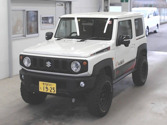 Import and buy SUZUKI JIMNY 2019 from Japan to Nairobi, Kenya