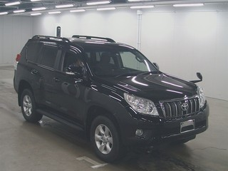 Import and buy TOYOTA LAND CRUISER PRADO 2013 from Japan to Nairobi, Kenya