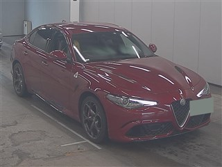 Import and buy ALFAROMEO GIULIA 2018 from Japan to Nairobi, Kenya