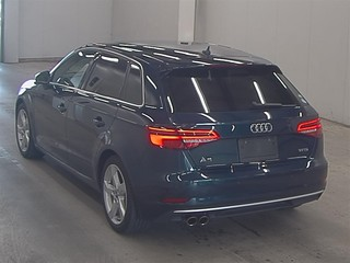 Import and buy AUDI A3 2017 from Japan to Nairobi, Kenya