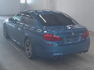 Import and buy BMW M5 2013 from Japan to Nairobi, Kenya