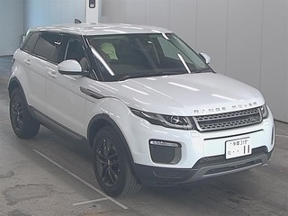 Import and buy LAND ROVER RANGE ROVER EVOQUE 2017 from Japan to Nairobi, Kenya