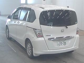 Import and buy HONDA FREED 2013 from Japan to Nairobi, Kenya