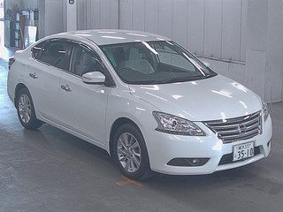 Import and buy NISSAN BLUEBIRD SYLPHY 2014 from Japan to Nairobi, Kenya