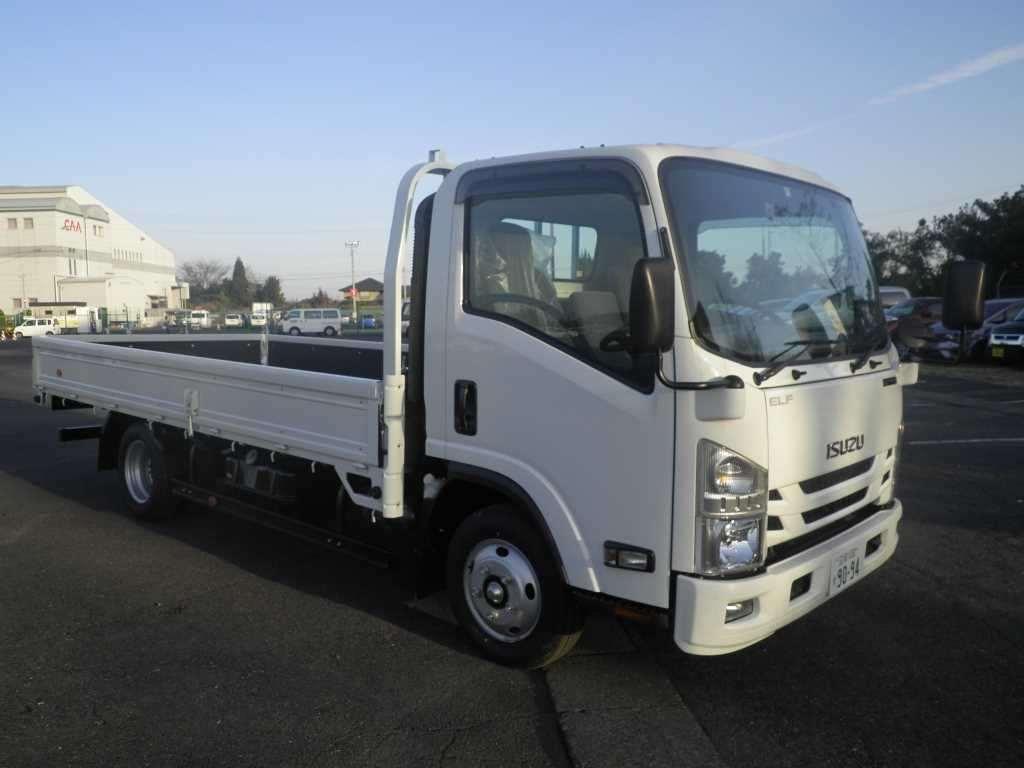 Buy/import ISUZU ELF TRUCK (2017) to Kenya from Japan auction