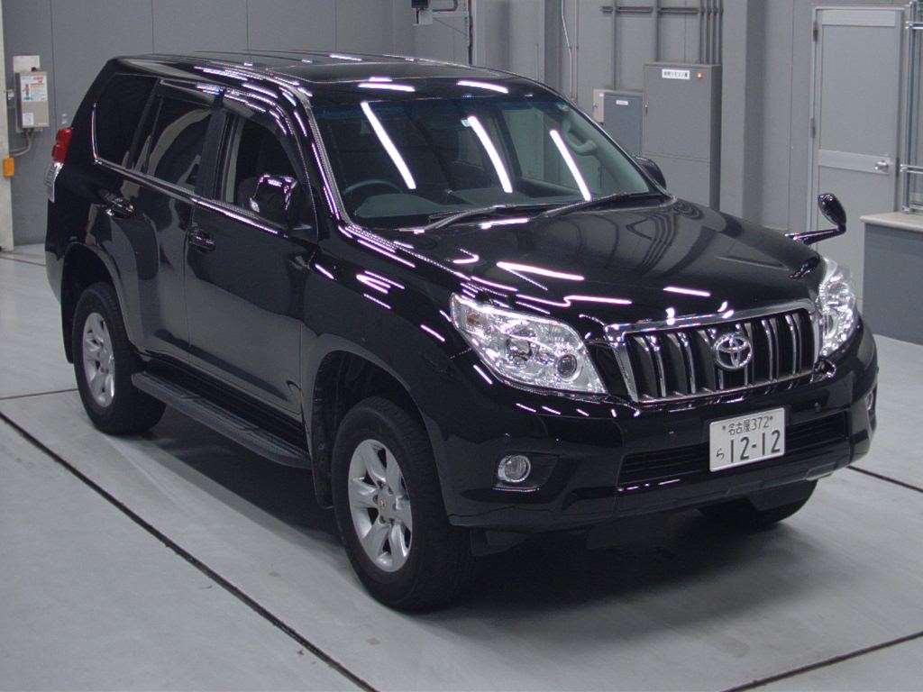Buy Import Toyota Land Cruiser Prado 2012 To Kenya From Japan Auction