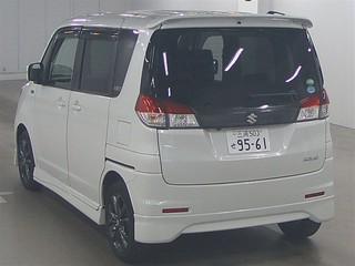 Import and buy SUZUKI SOLIO 2013 from Japan to Nairobi, Kenya