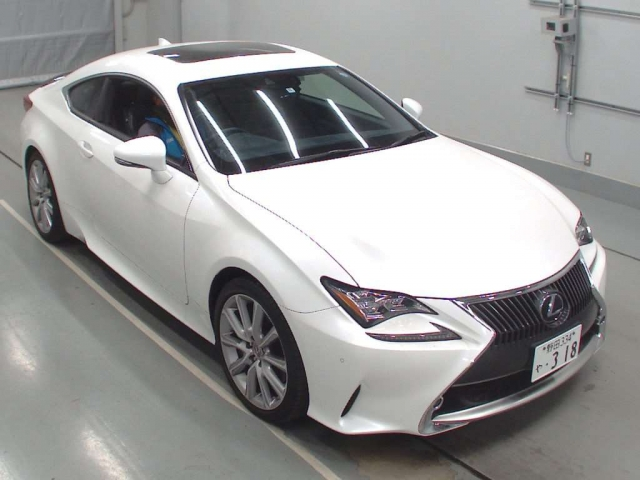 Import and buy LEXUS RC 2014 from Japan to Nairobi, Kenya