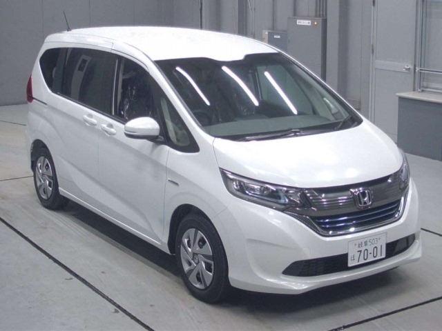 Import and buy HONDA FREED 2019 from Japan to Nairobi, Kenya