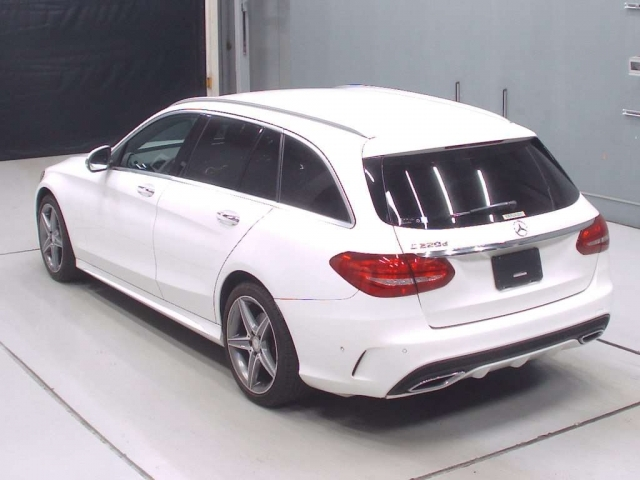 Import and buy MERCEDES BENZ C CLASS WAGON 2016 from Japan to Nairobi, Kenya