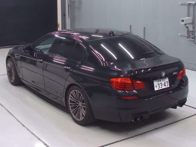 Import and buy BMW M5 2016 from Japan to Nairobi, Kenya