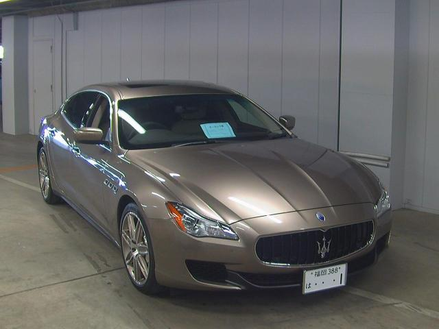 Import and buy MASERATI QUATTROPORTE 2015 from Japan to Nairobi, Kenya