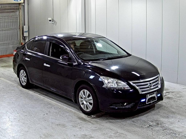 Import and buy NISSAN BLUEBIRD SYLPHY 2013 from Japan to Nairobi, Kenya