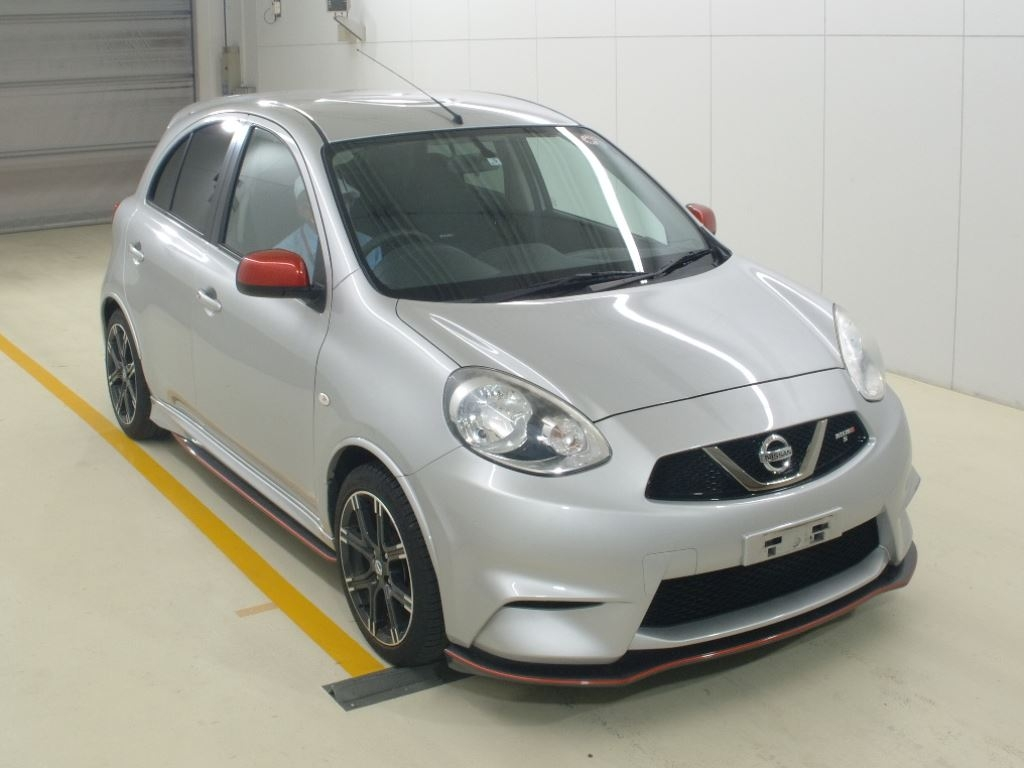 Import and buy NISSAN MARCH 2015 from Japan to Nairobi, Kenya