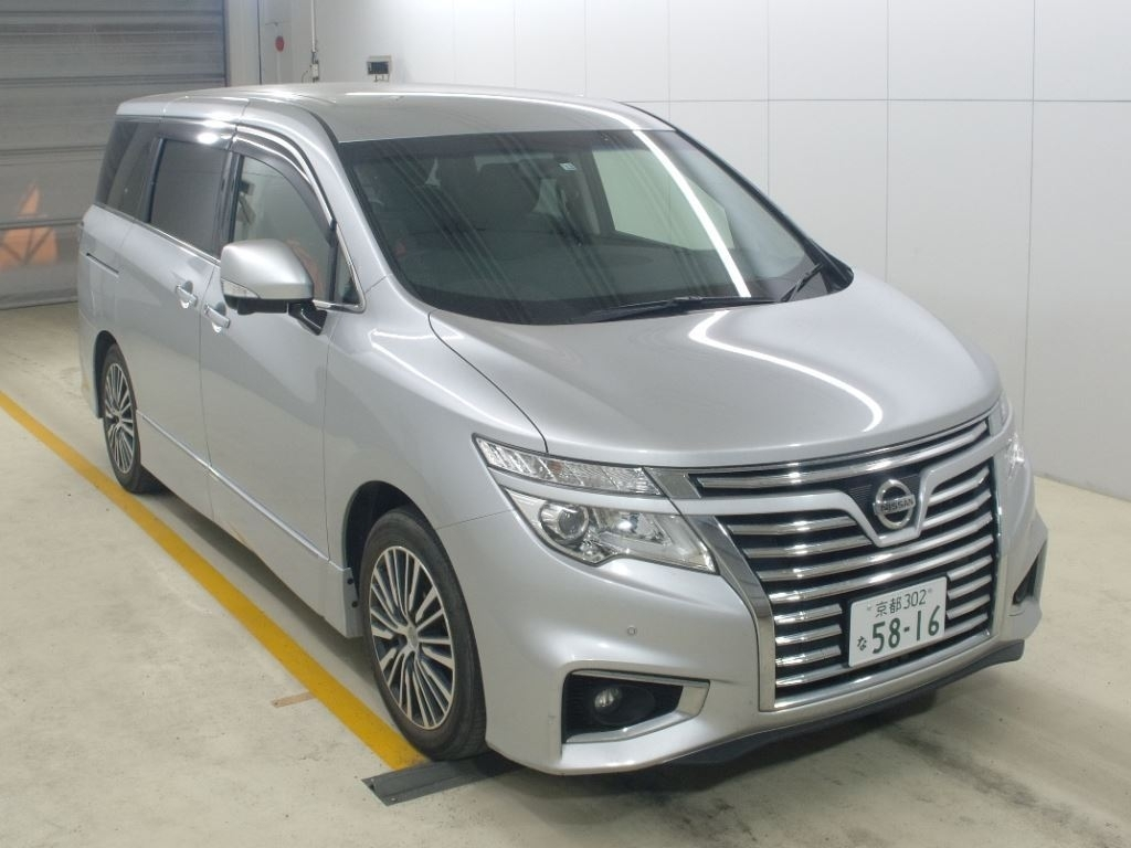 Import and buy NISSAN ELGRAND 2016 from Japan to Nairobi, Kenya