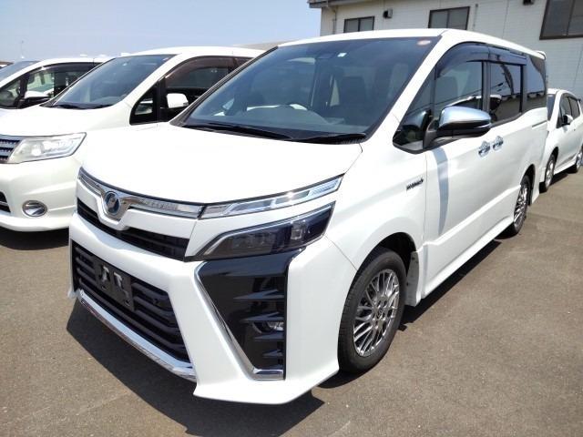 Import and buy TOYOTA VOXY 2019 from Japan to Nairobi, Kenya