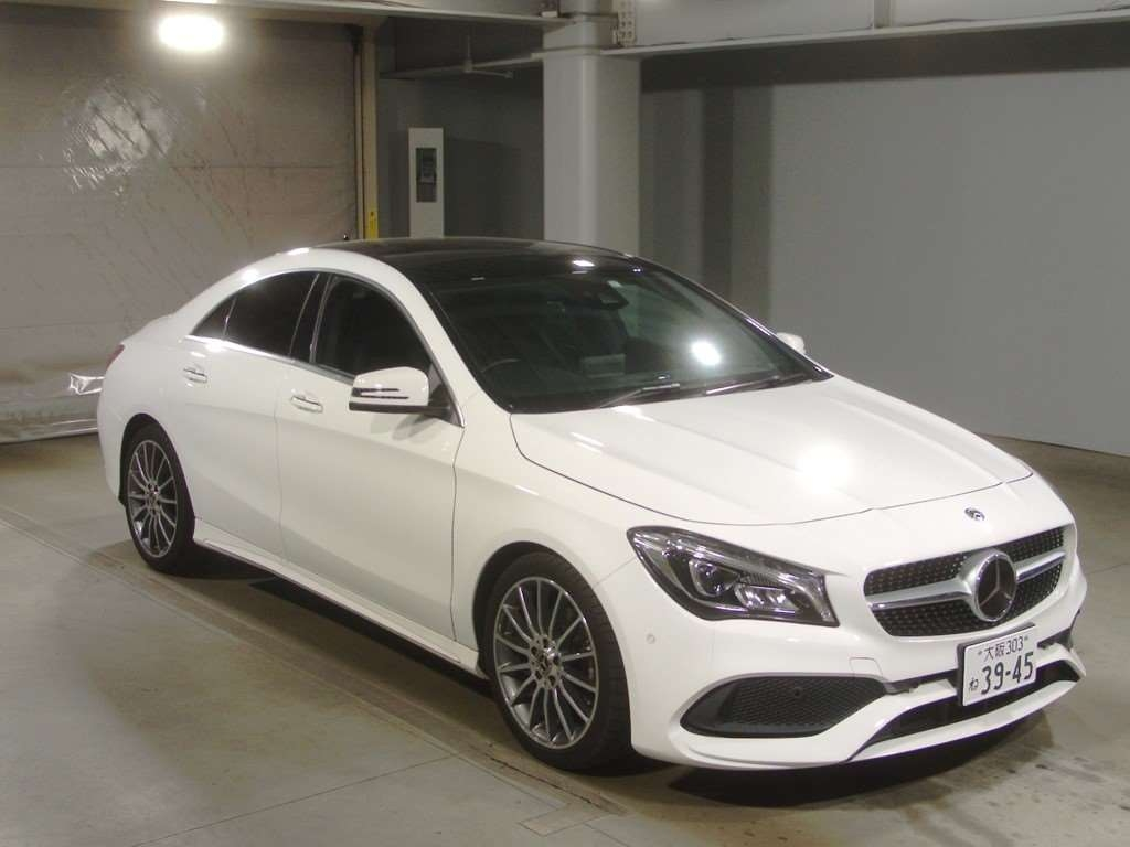 Import and buy MERCEDES BENZ CLA CLASS 2019 from Japan to Nairobi, Kenya