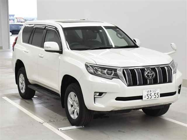 Import and buy TOYOTA LAND CRUISER PRADO 2018 from Japan to Nairobi, Kenya