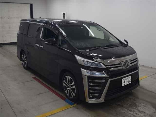 Import and buy TOYOTA VELLFIRE 2018 from Japan to Nairobi, Kenya