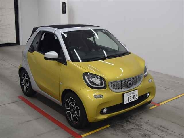 Import and buy SMART FORTWO 2016 from Japan to Nairobi, Kenya