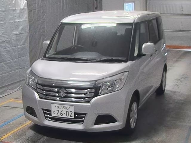 Import and buy SUZUKI SOLIO 2018 from Japan to Nairobi, Kenya
