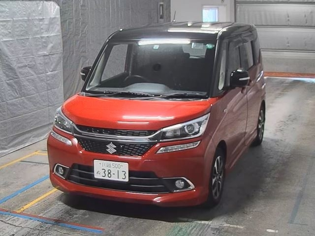 Import and buy SUZUKI SOLIO 2015 from Japan to Nairobi, Kenya