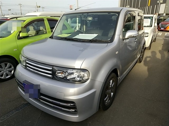 Import and buy NISSAN CUBE 2015 from Japan to Nairobi, Kenya