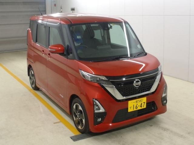 Import and buy NISSAN ROOX 2020 from Japan to Nairobi, Kenya