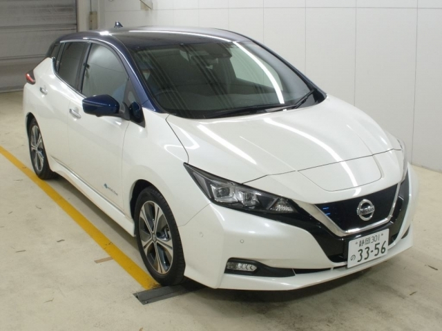 Import and buy NISSAN LEAF 2020 from Japan to Nairobi, Kenya