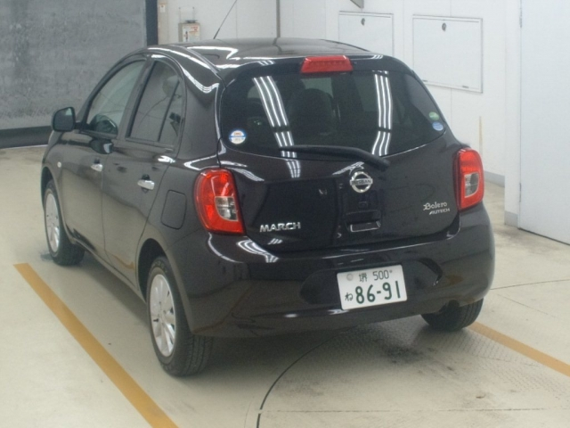 Import and buy NISSAN MARCH 2019 from Japan to Nairobi, Kenya