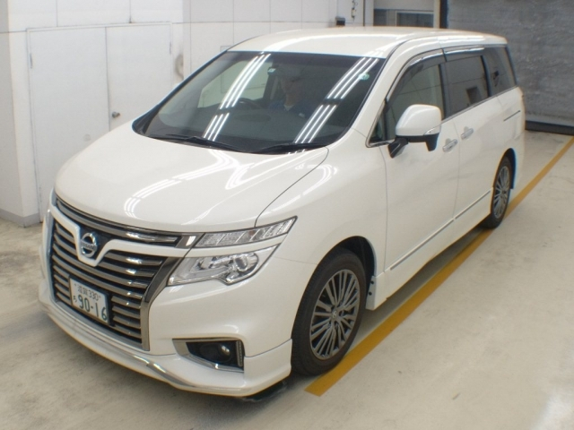 Import and buy NISSAN ELGRAND 2017 from Japan to Nairobi, Kenya