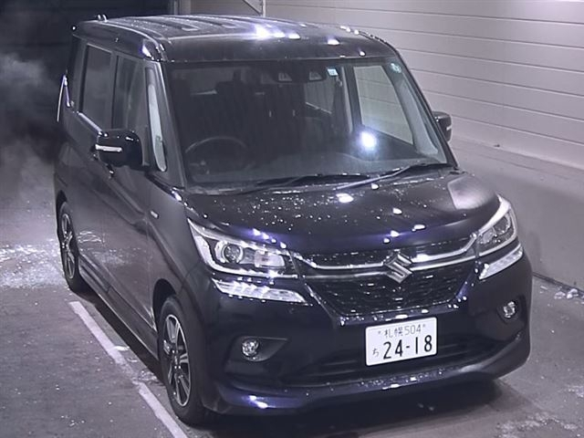 Import and buy SUZUKI SOLIO 2019 from Japan to Nairobi, Kenya