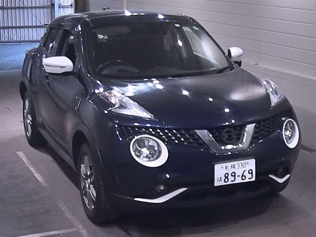 Import and buy NISSAN JUKE 2015 from Japan to Nairobi, Kenya