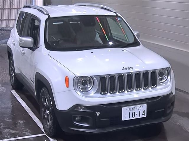 Import and buy CHRYSLER JEEP RENEGADE 2015 from Japan to Nairobi, Kenya