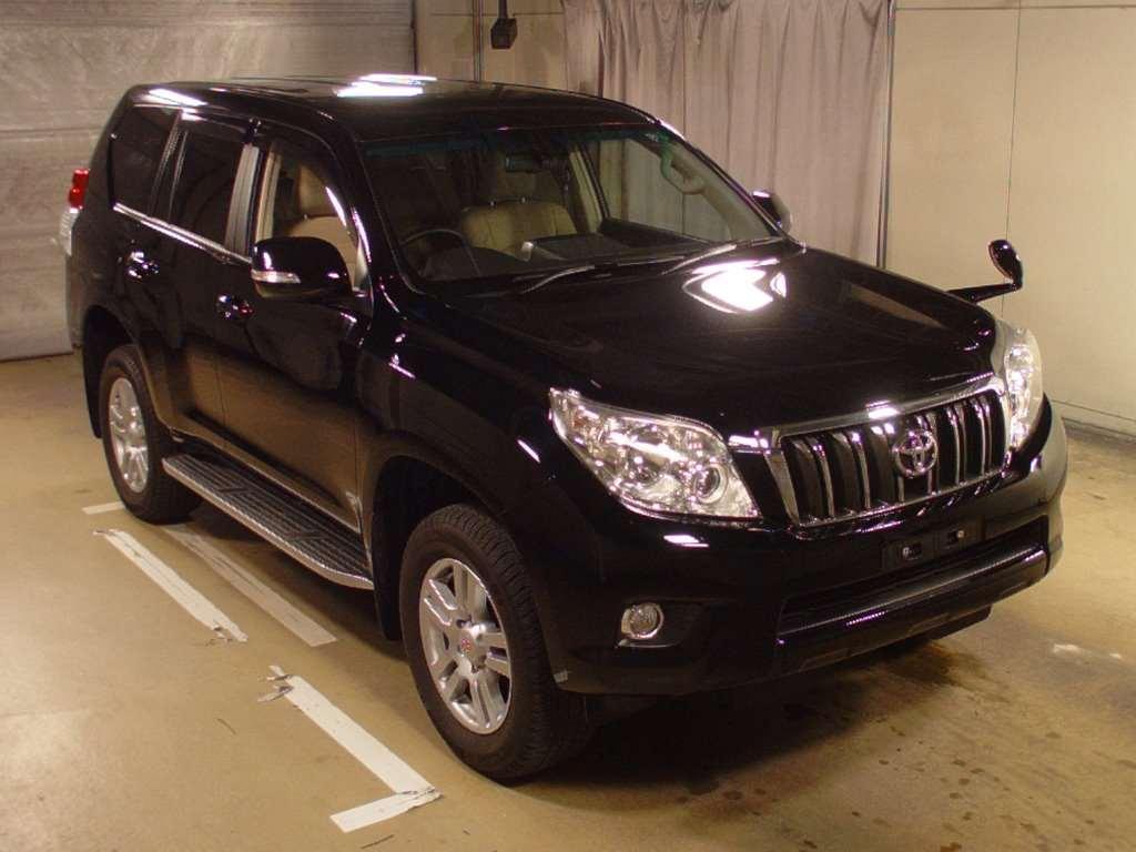 Buy Import Toyota Land Cruiser Prado 2012 To Kenya From Japan Auction Kes Diagram