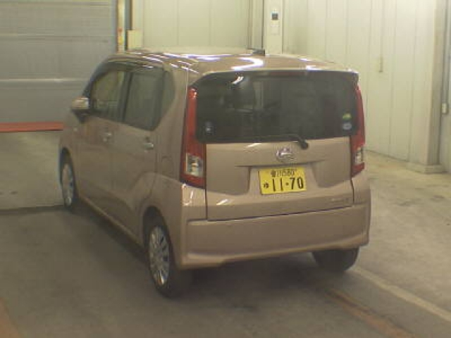 Import and buy DAIHATSU MOVE 2017 from Japan to Nairobi, Kenya