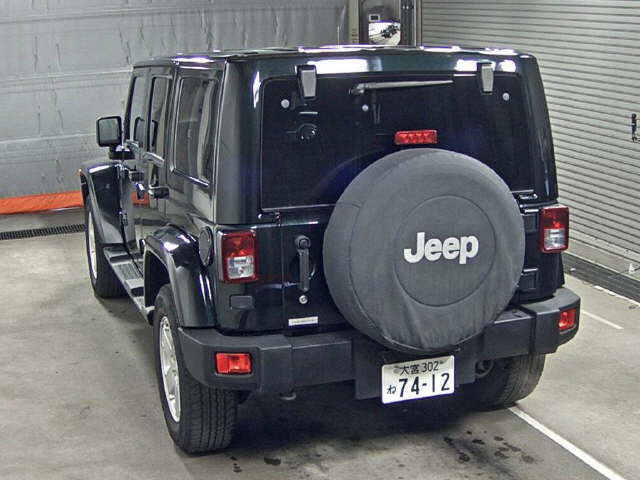 Import and buy JEEP WRANGLER 2013 from Japan to Nairobi, Kenya