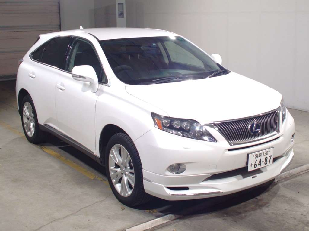 Buy/import LEXUS RX (2011) to Kenya from Japan auction