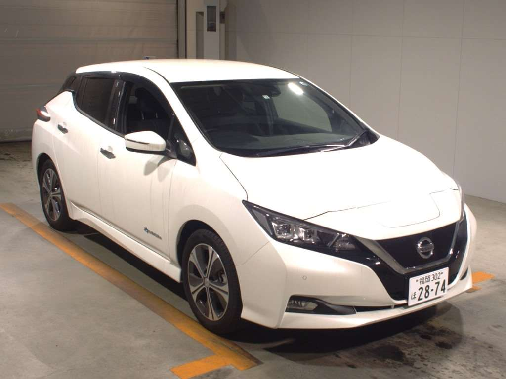 Would You Like To Import A Genuine Quality Nissan Leaf 2018 Direct From Auction In An