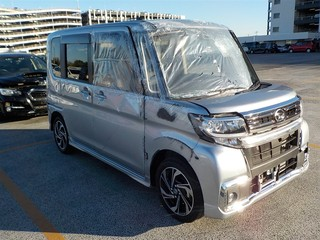 Import and buy DAIHATSU TANTO 2019 from Japan to Nairobi, Kenya