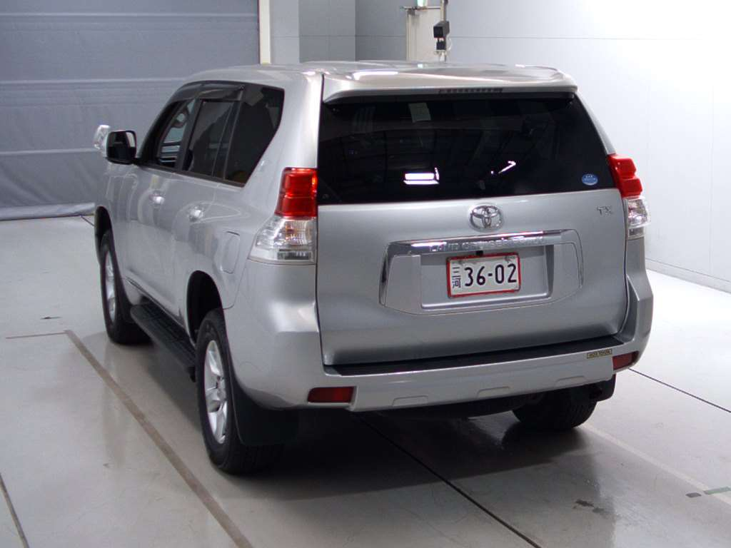 Buy Toyota Land Cruiser Prado 2012 From Japan Auction And Import