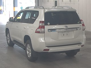 Import and buy TOYOTA LAND CRUISER PRADO 2015 from Japan to Nairobi, Kenya