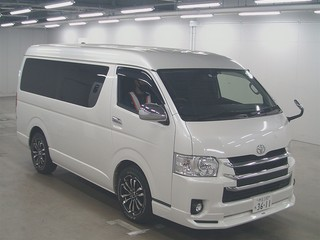 Import and buy TOYOTA HIACE 2017 from Japan to Nairobi, Kenya