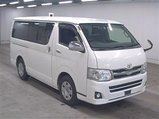 Import and buy TOYOTA HIACE VAN 2013 from Japan to Nairobi, Kenya