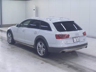 Import and buy AUDI A6 ALLROAD QUATTRO 2014 from Japan to Nairobi, Kenya